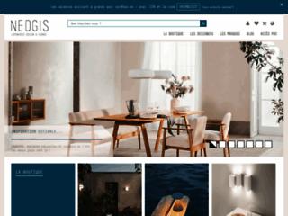 Détails : Nedgis, boutique de luminaires design