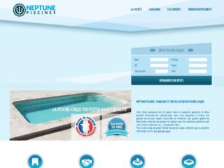 Neptune Piscines, fabricant de piscine en coque