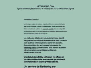 Détails : netlinking en 2012