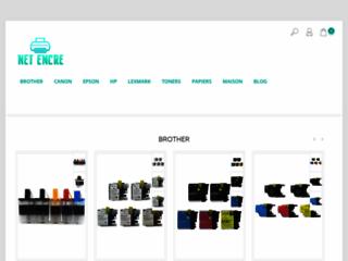 Détails : Net Encre, vente de cartouches d'encre pas cher