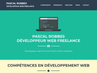 Détails : Développeur web freelance à Paris - Pascal Robbes