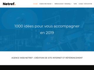 Détails : Création de site internet à Dijon : Netref