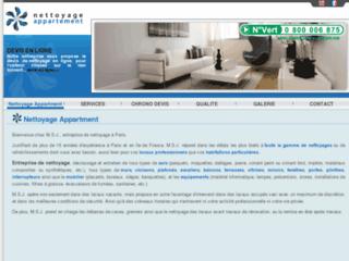 entreprise professionnelle de nettoyage à Paris