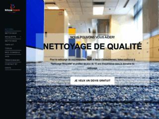 Détails : Nettoyage de moquette à Paris
