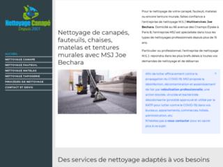 Le nettoyage de meubles en Île-de-France