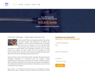 Détails : Nettoyage commercial et industriel - Gatineau QC