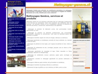 Détails : Nettoyages et propreté efficace - Genève