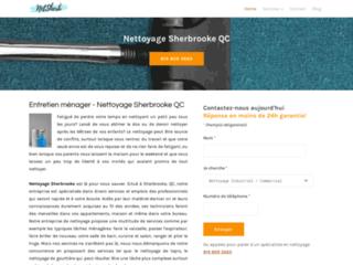 Détails : Nettoyage Sherbrooke