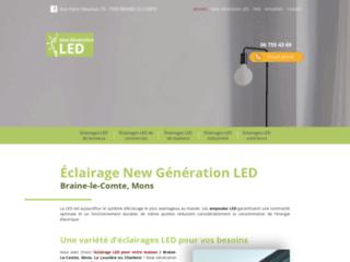 Eclairage New Génération LED Braine-le-Comte, Mons