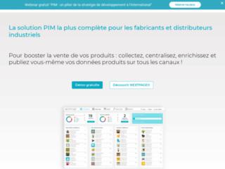 Détails : Solution et logiciel PIM Nextpage©