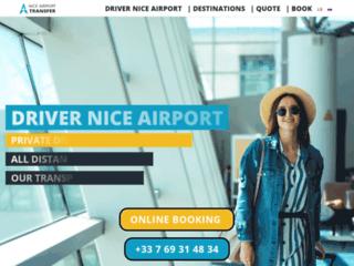 Votre compagnie de transport VTC à l'Aéroport de Nice
