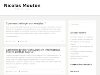 Nicolas Mouton le blog de référence