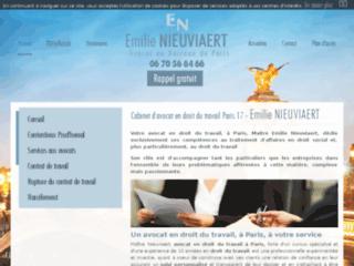 Détails : Avocat en droit du travail à Paris - Maître Emilie Nieuviaert
