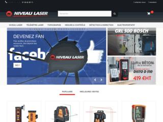 Détails : Niveau laser de chantier