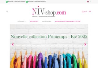 Détails : NIV, grossiste en ligne de prêt à porter femme