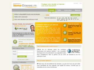 Détails : Noms de domaine