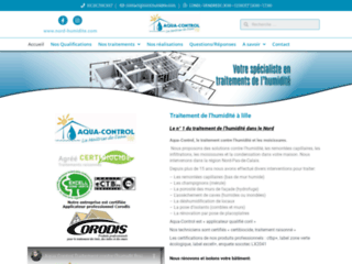 Aqua-Control , spécialiste de l'humidité