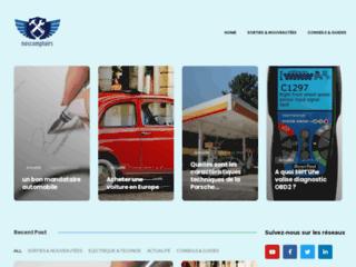 Détails : Site dédié a l'automobile et au transports