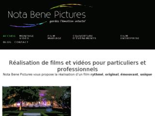 Entreprise de tournage et de montage vidéo pour les particuliers et les professionnels.