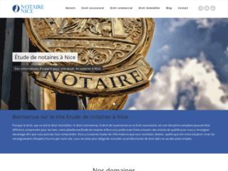 Notaire-nice.fr, étude de notaire à Nice