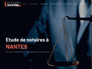 Etudes de notaires à Nantes