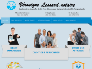 Votre cabinet de notaires professionnels à Montréal