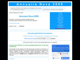 Détails : Nova 2000 : Un annuaire pour un référencement efficace