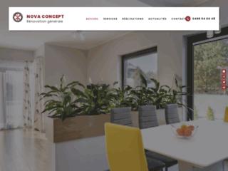 Nova Concept : entreprise de rénovation à Sirault