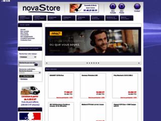 Détails : NovaStore : E-commerce Téléphonie