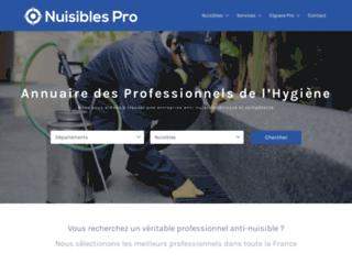 Trouver les entreprises anti-nuisibles en France
