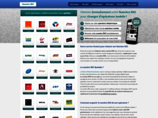 Détails : Mobile RIO : obtenez votre relevé d'identité opérateur gratutitement