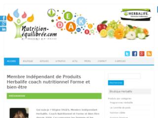 Détails : Nutrition équilibrée, distributeur HERBALIFE.