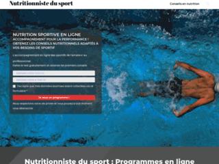 Nutritionniste du sport : améliorez vos performances sportives