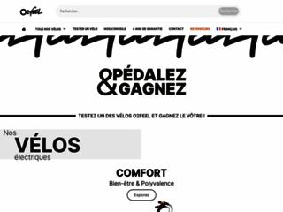 O2feel.com : concepteur de bicyclette à assistance électriques
