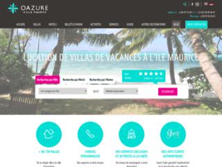 Détails : Oazure, location de villa à l'ile Maurice