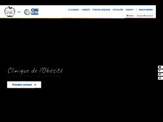 Détails : Traitement de l'obésité par la chirurgie bariatrique - Clinique de l'Obésité CHU-UCL (Namur) Belgique
