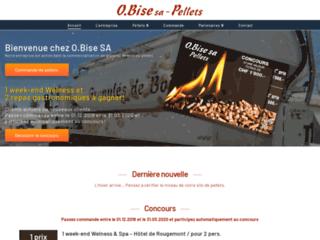 Achat de pellets de chauffage avec O.Bise