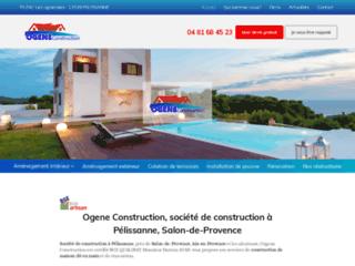 Entreprise création terrasses Pélissane