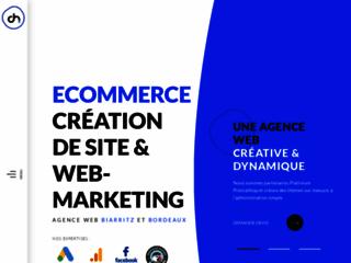 Détails : OhMyWeb - Agence Web Bayonne, Biarritz, Bordeaux   Création site internet et Web