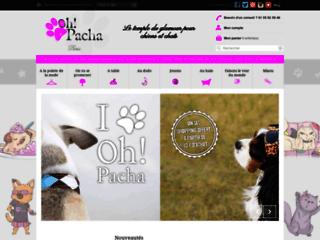 Oh ! Pacha, du glamour pour chiens et chats