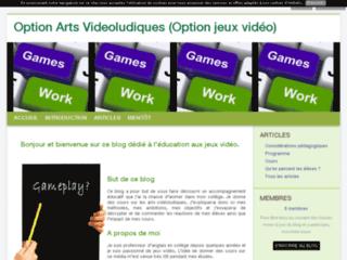 Option Arts Videoludiques (Option jeux vidéo)