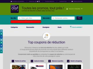 Olapromo vous permet de bénéficier de bons plans dans de nombreuses enseignes près de chez vous