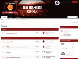 Détails : Old Trafford Corner - Manchester United