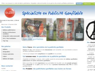 Détails : Le spécialiste de la publicité gonflable