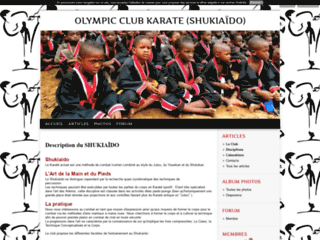 OLYMPIC CLUB KARATE (SHUKIAÏDO)