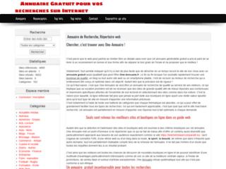 Détails : Annuaire utile de référencement
