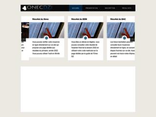 Détails : Les résultats des examens sur onec-dz.info