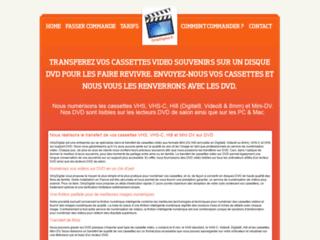 Détails : Conserver les cassettes vidéo souvenirs grâce à la numérisation