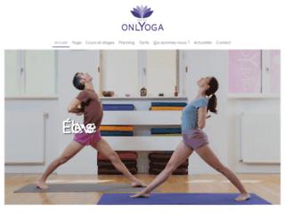 Détails : Un sport praticable, le yoga avec onlyoga