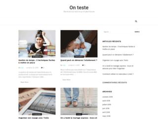 Tests et avis sur tout ce qu'on peut trouver
